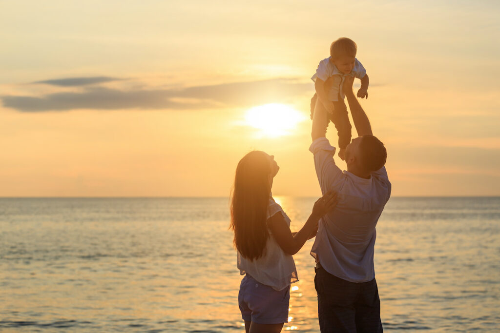 Vacaciones en familia